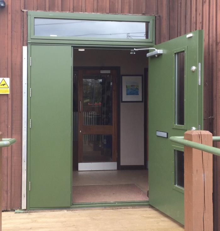 Metal Doors Installation : Flood doors